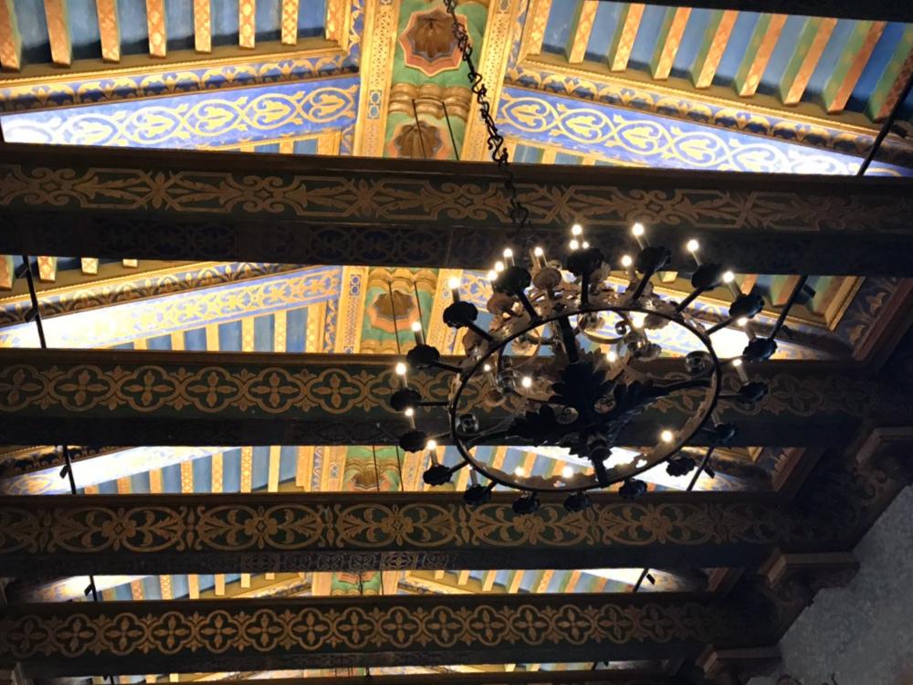 サンタバーバラ裁判所の天井
