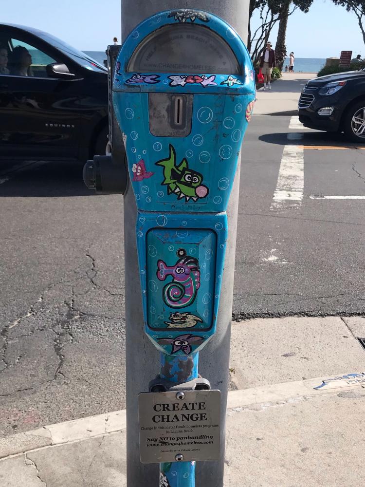 Coin Meter in Laguna Beach