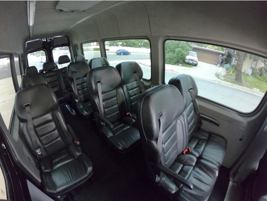 12 Pax Mercedes-Benz Sprinter Van